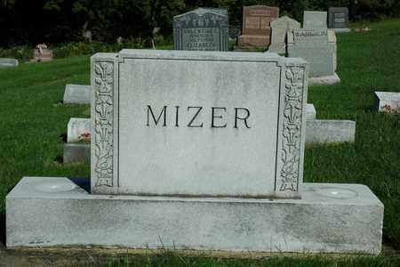 BEVINGTON MIZER, EDNA - Coshocton County, Ohio | EDNA BEVINGTON MIZER - Ohio Gravestone Photos