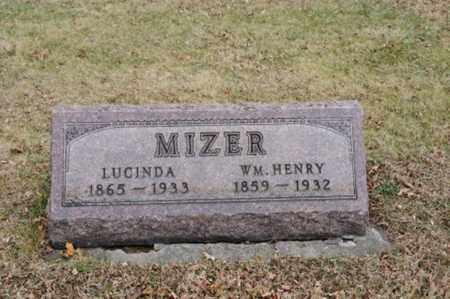 RINE MIZER, LUCINDA - Coshocton County, Ohio | LUCINDA RINE MIZER - Ohio Gravestone Photos