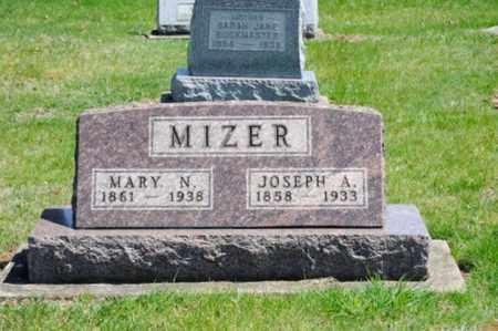 NOLAN MIZER, MARY - Coshocton County, Ohio | MARY NOLAN MIZER - Ohio Gravestone Photos