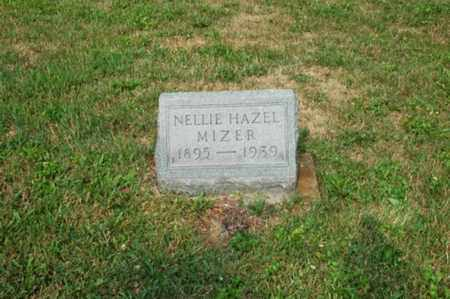 LAWRENCE MIZER, NELLIE HAZEL - Coshocton County, Ohio | NELLIE HAZEL LAWRENCE MIZER - Ohio Gravestone Photos