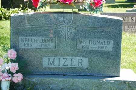 LEAVENGOOD MIZER, NELLIE JANE - Coshocton County, Ohio | NELLIE JANE LEAVENGOOD MIZER - Ohio Gravestone Photos