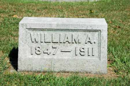 MIZER, WILLIAM A. - Coshocton County, Ohio | WILLIAM A. MIZER - Ohio Gravestone Photos