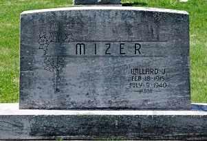 MIZER, WILLARD J. - Coshocton County, Ohio   WILLARD J. MIZER - Ohio Gravestone Photos