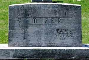 MIZER, WILLARD J. - Coshocton County, Ohio | WILLARD J. MIZER - Ohio Gravestone Photos