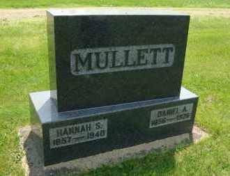 CLARK MULLETT, HANNAH (SEVERNS) - Coshocton County, Ohio | HANNAH (SEVERNS) CLARK MULLETT - Ohio Gravestone Photos