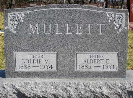 MULLETT, GOLDIE MAE - Coshocton County, Ohio | GOLDIE MAE MULLETT - Ohio Gravestone Photos