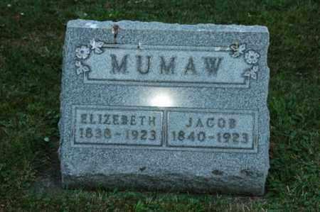 KENT MUMAW, ELIZABETH - Coshocton County, Ohio | ELIZABETH KENT MUMAW - Ohio Gravestone Photos