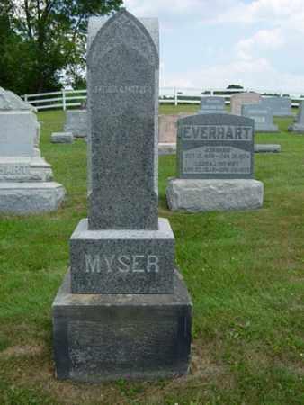 MYSER, CATHARINE A. - Coshocton County, Ohio   CATHARINE A. MYSER - Ohio Gravestone Photos
