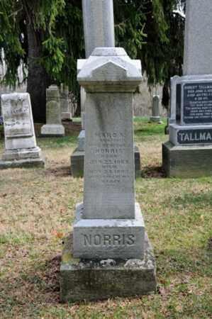 NORRIS, MARO A. - Coshocton County, Ohio   MARO A. NORRIS - Ohio Gravestone Photos