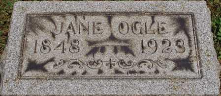 OGLE, JANE - Coshocton County, Ohio | JANE OGLE - Ohio Gravestone Photos