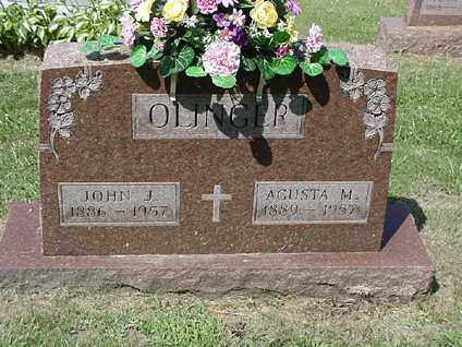 OLINGER, AGUSTA M. - Coshocton County, Ohio | AGUSTA M. OLINGER - Ohio Gravestone Photos