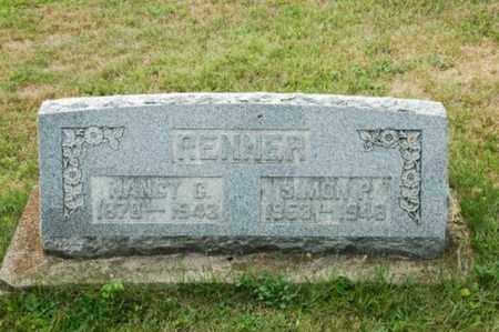 RENNER, NANCY C. - Coshocton County, Ohio | NANCY C. RENNER - Ohio Gravestone Photos