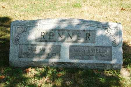 RENNER, MARY ESTELLA - Coshocton County, Ohio | MARY ESTELLA RENNER - Ohio Gravestone Photos
