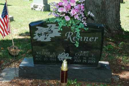 RENNER, CAROLE V. - Coshocton County, Ohio | CAROLE V. RENNER - Ohio Gravestone Photos