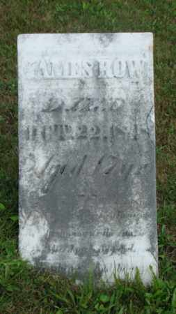 ROW, JAMES - Coshocton County, Ohio | JAMES ROW - Ohio Gravestone Photos