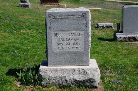 SAUSAMAN, BELLE - Coshocton County, Ohio   BELLE SAUSAMAN - Ohio Gravestone Photos