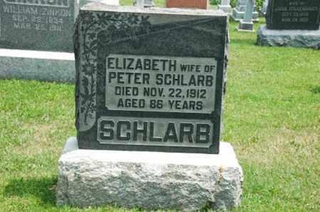 SCHLARB, ELIZABETH - Coshocton County, Ohio | ELIZABETH SCHLARB - Ohio Gravestone Photos