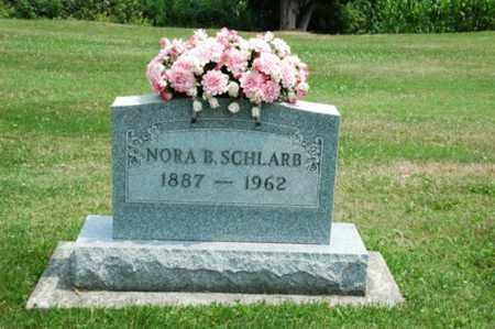 SCHLARB, NORA B. - Coshocton County, Ohio | NORA B. SCHLARB - Ohio Gravestone Photos