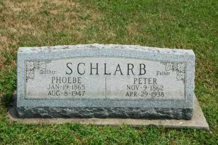 SCHLARB, PHOEBE - Coshocton County, Ohio   PHOEBE SCHLARB - Ohio Gravestone Photos