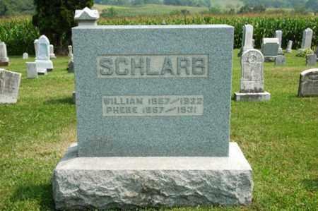 SCHLARB, PHEBE - Coshocton County, Ohio | PHEBE SCHLARB - Ohio Gravestone Photos