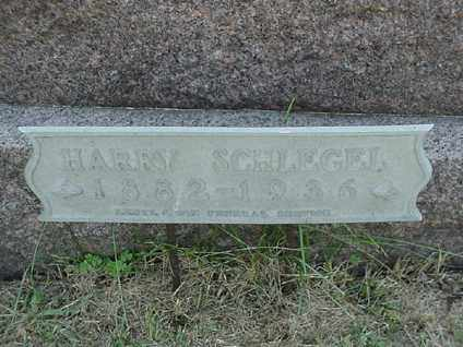 SCHLEGEL, HARRY - Coshocton County, Ohio | HARRY SCHLEGEL - Ohio Gravestone Photos