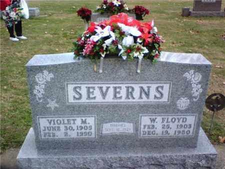 SEVERNS, WILLIAM FLOYD - Coshocton County, Ohio | WILLIAM FLOYD SEVERNS - Ohio Gravestone Photos