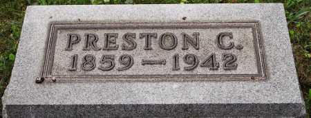 SHIPPS, PRESTON CROMWELL - Coshocton County, Ohio | PRESTON CROMWELL SHIPPS - Ohio Gravestone Photos