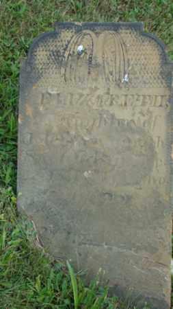 SMITH, ELIZABETH - Coshocton County, Ohio   ELIZABETH SMITH - Ohio Gravestone Photos