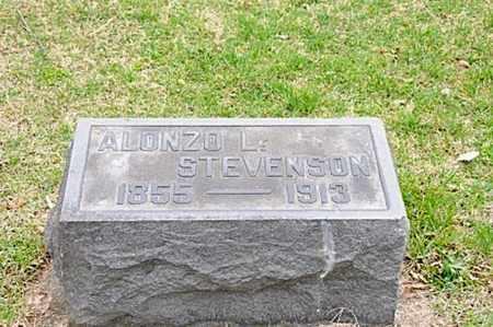 STEVENSON, ALONZO LEWELLYN - Coshocton County, Ohio | ALONZO LEWELLYN STEVENSON - Ohio Gravestone Photos