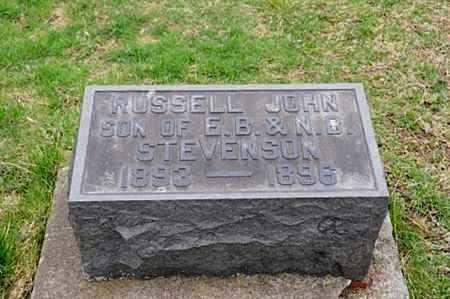 STEVENSON, RUSSELL JOHN - Coshocton County, Ohio   RUSSELL JOHN STEVENSON - Ohio Gravestone Photos