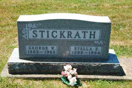 EMIG STICKRATH, STELLA - Coshocton County, Ohio | STELLA EMIG STICKRATH - Ohio Gravestone Photos