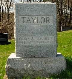 MIZER TAYLOR, CLARA BELLE - Coshocton County, Ohio | CLARA BELLE MIZER TAYLOR - Ohio Gravestone Photos