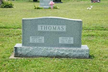 THOMAS, HAZEL D. - Coshocton County, Ohio | HAZEL D. THOMAS - Ohio Gravestone Photos