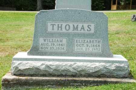 THOMAS, WILLIAM - Coshocton County, Ohio | WILLIAM THOMAS - Ohio Gravestone Photos