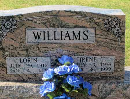WILLIAMS, LORIN - Coshocton County, Ohio | LORIN WILLIAMS - Ohio Gravestone Photos