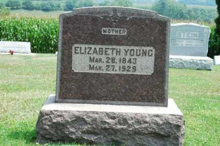 YOUNG, ELIZABETH - Coshocton County, Ohio | ELIZABETH YOUNG - Ohio Gravestone Photos