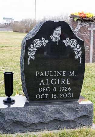 ALGIRE, PAULINE M - Crawford County, Ohio   PAULINE M ALGIRE - Ohio Gravestone Photos