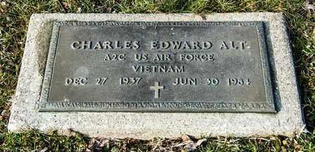 ALT, CHARLES EDWARD - Crawford County, Ohio | CHARLES EDWARD ALT - Ohio Gravestone Photos