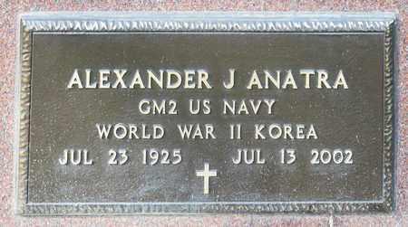 ANATRA, ALEXANDER J - Crawford County, Ohio | ALEXANDER J ANATRA - Ohio Gravestone Photos