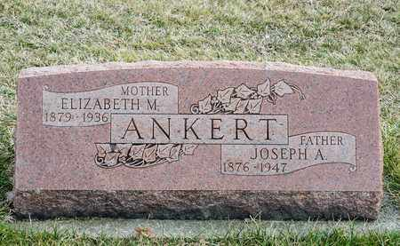 ANKERT, ELIZABETH M - Crawford County, Ohio | ELIZABETH M ANKERT - Ohio Gravestone Photos