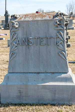 ANSTETT, JOHN - Crawford County, Ohio | JOHN ANSTETT - Ohio Gravestone Photos