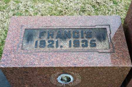 ARCUDI, FRANCIS - Crawford County, Ohio | FRANCIS ARCUDI - Ohio Gravestone Photos