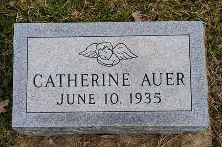 AUER, CATHERINE - Crawford County, Ohio   CATHERINE AUER - Ohio Gravestone Photos
