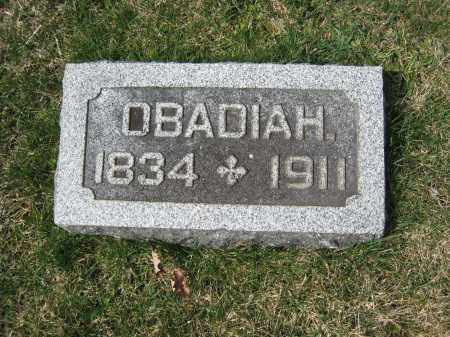BANKS, OBADIAH - Crawford County, Ohio   OBADIAH BANKS - Ohio Gravestone Photos