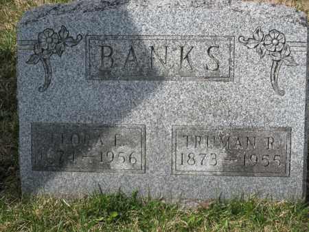 BANKS, FLORA E. - Crawford County, Ohio | FLORA E. BANKS - Ohio Gravestone Photos