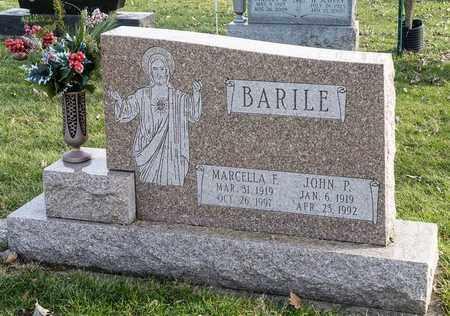 BARILE, JOHN P - Crawford County, Ohio | JOHN P BARILE - Ohio Gravestone Photos