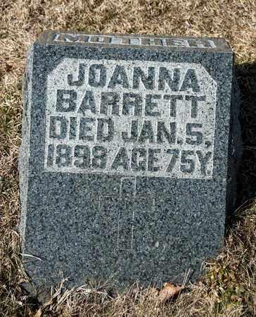 BARRETT, JOANNA - Crawford County, Ohio | JOANNA BARRETT - Ohio Gravestone Photos