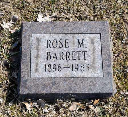 BARRETT, ROSE M - Crawford County, Ohio | ROSE M BARRETT - Ohio Gravestone Photos