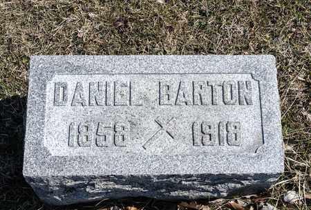 BARTON, DANIEL - Crawford County, Ohio | DANIEL BARTON - Ohio Gravestone Photos