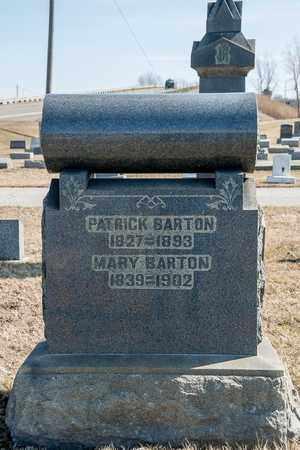 BARTON, PATRICK - Crawford County, Ohio   PATRICK BARTON - Ohio Gravestone Photos